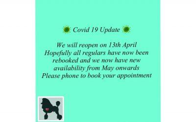 Covid 19 Update March 2021